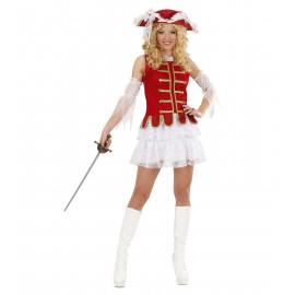 Costume Carnevale Donna  Moschettiere *22845 moschettiera