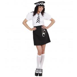 Costume Carnevale Donna  Poliziotta Inglese *22879 | Pelusciamo.com