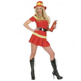 Costume Carnevale Donna  Pompiere *22894 | Pelusciamo.com