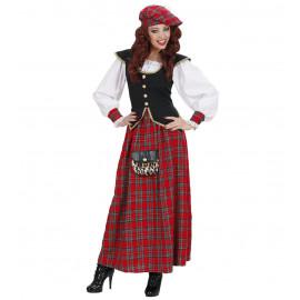 Costume Carnevale Donna Abito Scozzese  | Pelusciamo.com