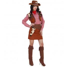 Costume Carnevale Donna Vestito Cowgirl, Serie Cowboy Indiani  | Pelusciamo store