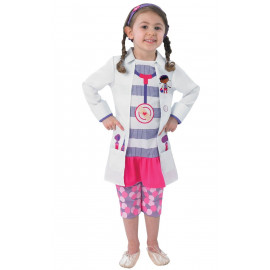 Costume Carnevale Bambina Dottie , Dottoressa Peluche Disney | pelusciamo.com