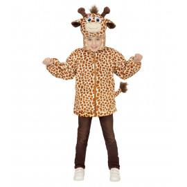 Costume Carnevale Bimbo Felpa Giraffa PS 22727 Pelusciamo Store Marchirolo