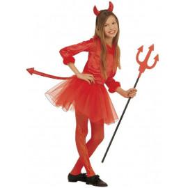 Costume Carnevale bambino travestimento Halloween diavoletta *21819 | pelusciamo.com