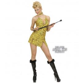 Costume Carnevale Donna, Vestito Tigre  | Pelusciamo store