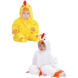 Costume Carnevale Bimbo, Animale Pulcino PS 22719 Primi Mesi