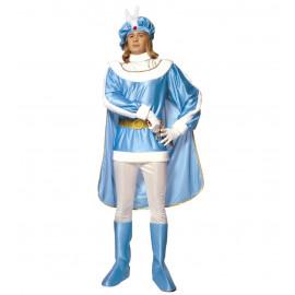 Costume Carnevale Adulto travestimento Principe Azzurro *19650 Prince