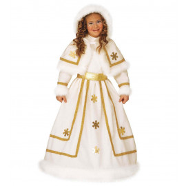 Costume Carnevale Bimba Principessa Delle Nevi | Pelusciamo.com