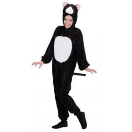 Costume Carnevale Adulto Gatto , serie Animali, Travestimento Cat  |  Pelusciamo store