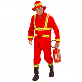 Costume Carnevale Uomo Divisa Pompiere  * 22830  | Pelusciamo store
