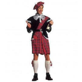Costume Carnevale Uomo Kilt  travestimento Scozzese * 22826