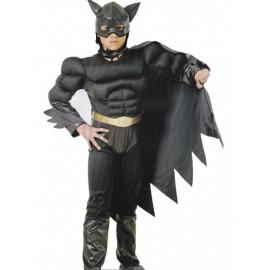 Costume Carnevale  Bambino Supereroe,  Uomo Pipistrello Nero| pelusciamo.com