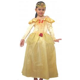 Costume Carnevale Bimba Principessa Belle Disney | pelusciamo.com