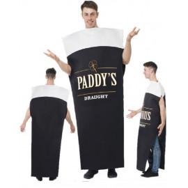 Costume Carnevale Adulto Pinta di Birra, St Patrick , Smiffys pelusciamo