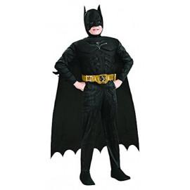 Costume Carnevale Bambino Batman Muscoli Deluxe  PS 26027 Pelusciamo Store Marchirolo