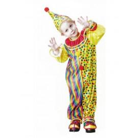 Costume Carnevale Bambino travestimento Clown Pagliaccio *10203