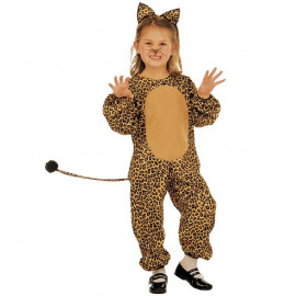 Costume Carnevale Bimba Travestimento Leopardo Maculato PS 19943 pelusciamo store Marchirolo