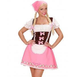 Costume Carnevale Cameriera Bavarese Festa Birra Oktoberfest PS 08656 Pelusciamo Store Marchirolo