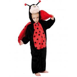 Costume Carnevale Coccinella Travestimento LadyBug  PS 26037
