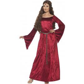 Costume Carnevale Donna Cameriera Medioevale Travestimento PS 08132 Pelusciamo Store Marchirolo