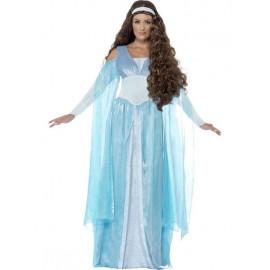 Costume Carnevale Donna Medioevale Travestimento Deluxe PS 08077 Pelusciamo Store Marchirolo