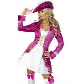 Costume Carnevale Donna pirata pirate treasure smiffy's 30731 *12549