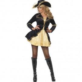 Costume Carnevale Donna Pirata Piratessa Barocca PS 12551 Pelusciamo Store Marchirolo