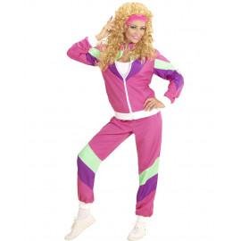 Costume Carnevale Donna Travestimento Tuta Anni 80 PS 26219 Pelusciamo Store Marchirolo