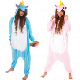 Costume Carnevale Donna Travestimento Unicorno Peluche PS 25708 Pelusciamo Store Marchirolo