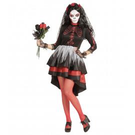 Costume Carnevale Donna La Sposa Della Morte PS 25602  Vestito Halloween  Pelusciamo Store Marchirolo