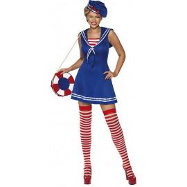 Costume Carnevale Marinaia Sailor Cutie Travestimento Donna PS 08096 Pelusciamo Store Marchirolo