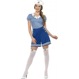 Costume Carnevale Marinaia Sailor Girl Travestimento Donna PS 08315 Pelusciamo Store Marchirolo