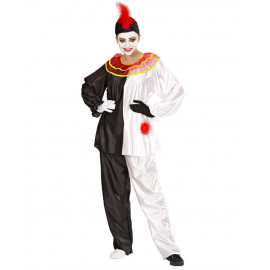 Costume Carnevale Pierrot Taglie Adulto PS 26200 Pelusciamo Store Marchirolo