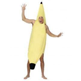 Costume Carnevale travestimento adulto Banana smiffys *07408