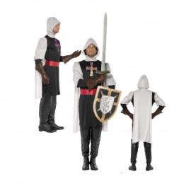 Costume Carnevale Uomo Cavaliere Soldato Medioevo Crociato Smiffys