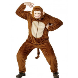 Costume Carnevale Uomo Scimmia Travestimento Smiffys PS 07411