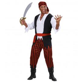 Costume Carnevale Adulto, Travestimento Pirata  | Pelusciamo.com