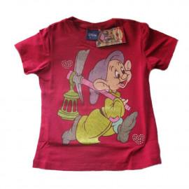 T-Shirt Disney Cucciolo Dopey Fragola Sette Nani