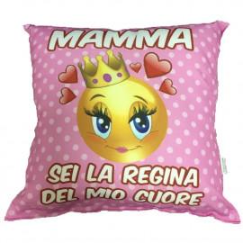 Cuscino Festa Della Mamma Sei La Regina Del Mio Cuore PS 05901 pelusciamo store