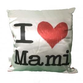 Cuscino Quadrato Festa Della Mamma I Love Mami   pelusciamo store