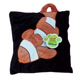 Peluche morbido cuscino Wild Republic nero - Pesce | Pelusciamo.com