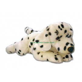 Peluche Cane Dalmata bianco nero 45 cm peluches keel toys *10112