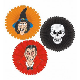Decorazione Casa Halloween Rosone Modello Assortito PS 09156 Pelusciamo Store Marchirolo