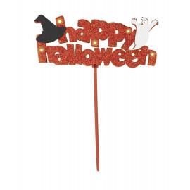 Decorazione casa Halloween centrotavola scritta luminosa *01080 | pelusciamo store