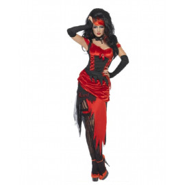 Costume Halloween Carnevale Donna Lust Lussuria Diavolo Smiffys