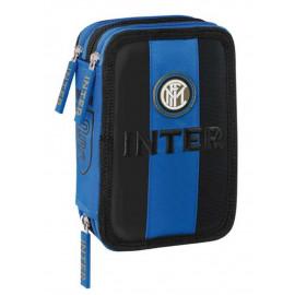 FC Internazionale Astuccio scuola completo 3 Cerniere PS 06604 Scuola Calcio PELUSCIAMO STORE