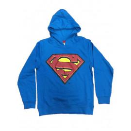 Felpa con cappuccio Bambino Superman vintage Supereroe | pelusciamo.com