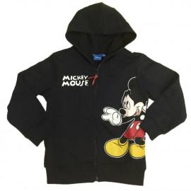 Felpa con cappuccio Mickey Mouse, Abbigliamento Topolino Disney | pelusciamo.com