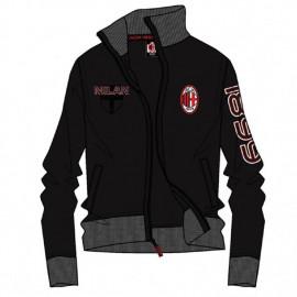 Felpa con zip  Milan da Uomo ufficiale ACM Milan calcio *24088 pelusciamo.com