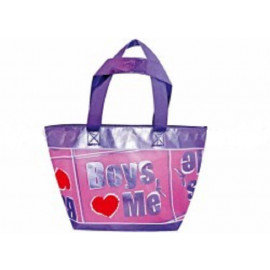 Borsa da Mare stile 80'S boys love me 50 cm *05242 pelusciamo.com